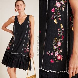 ANTHROPOLOGIE Rhea Embroidered Tunic